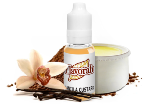 Flavorah FLV Terms and Conditions Vanilla Custard