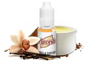 Flavorah FLV Terms and Conditions Vanilla Custard
